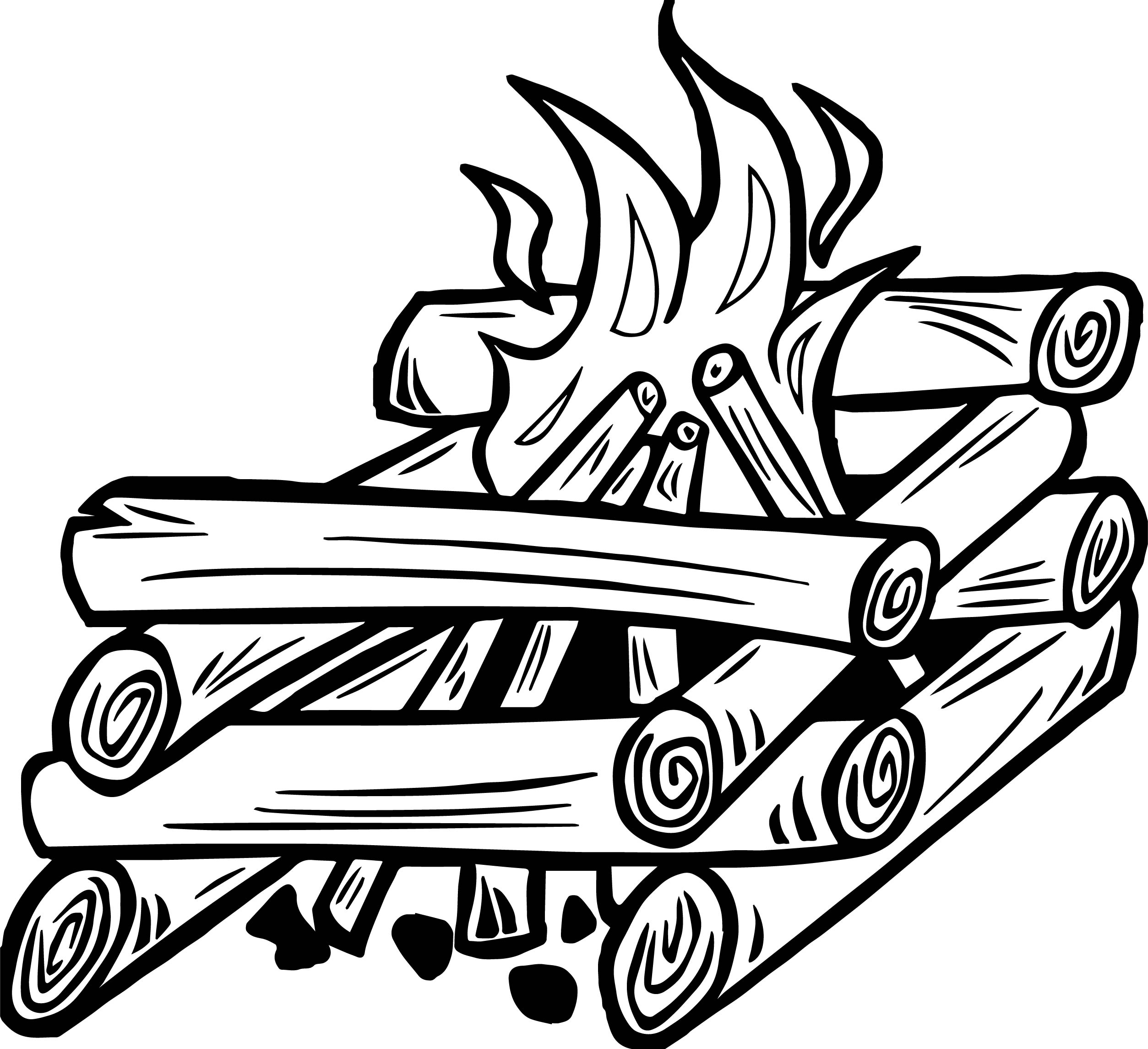 fire coloring page campfire coloring pages page fire coloring