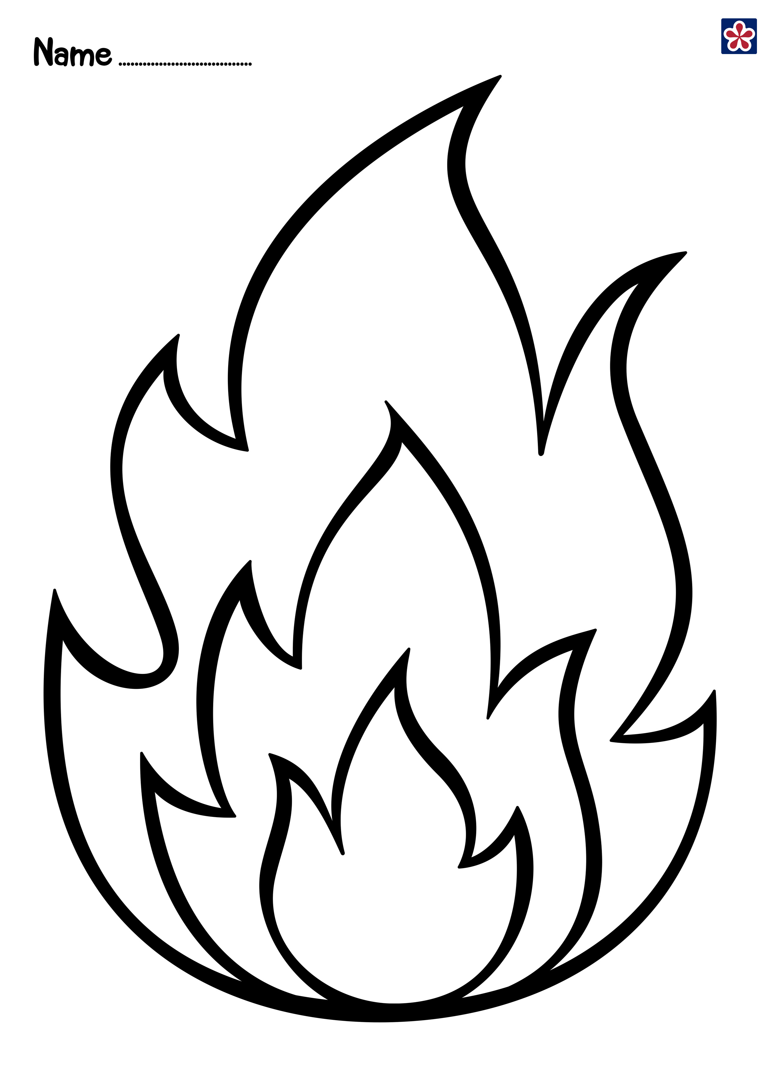fire coloring page fire design drawing at getdrawings free download page fire coloring