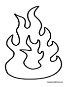fire coloring page free printable camping coloring pages fire page coloring