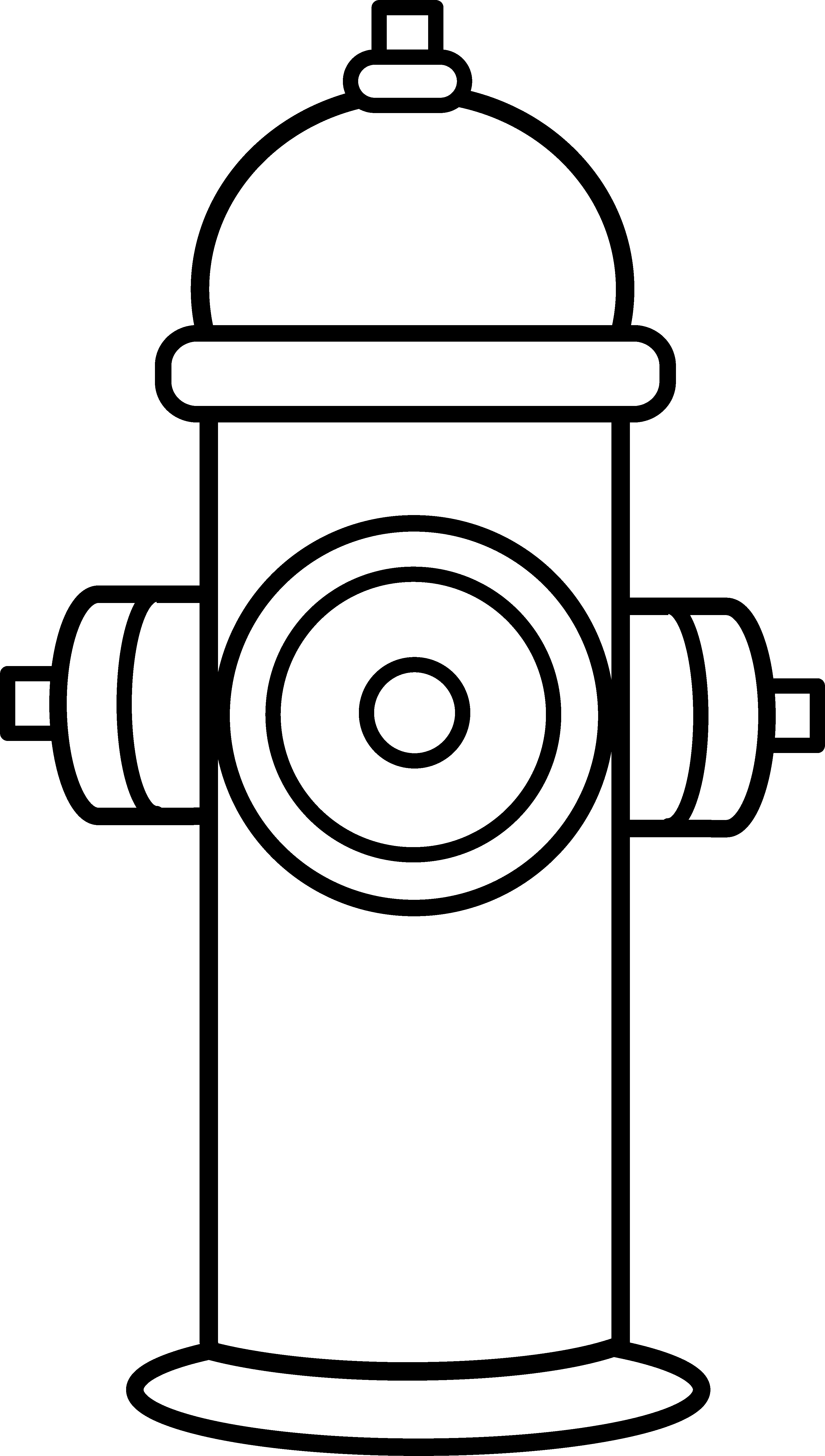 fire hydrant coloring pages fire hydrant coloring page coloring home coloring fire hydrant pages