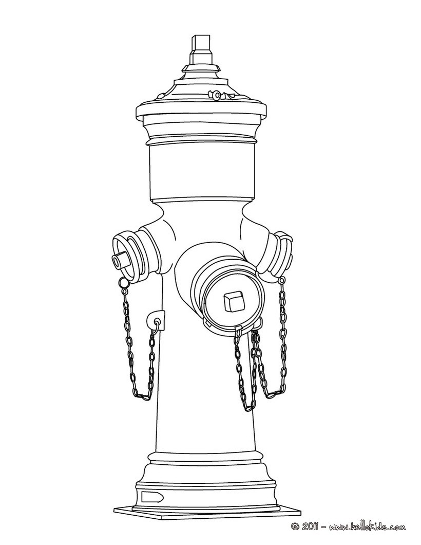 fire hydrant coloring pages fire hydrant coloring page coloringcrewcom pages fire coloring hydrant