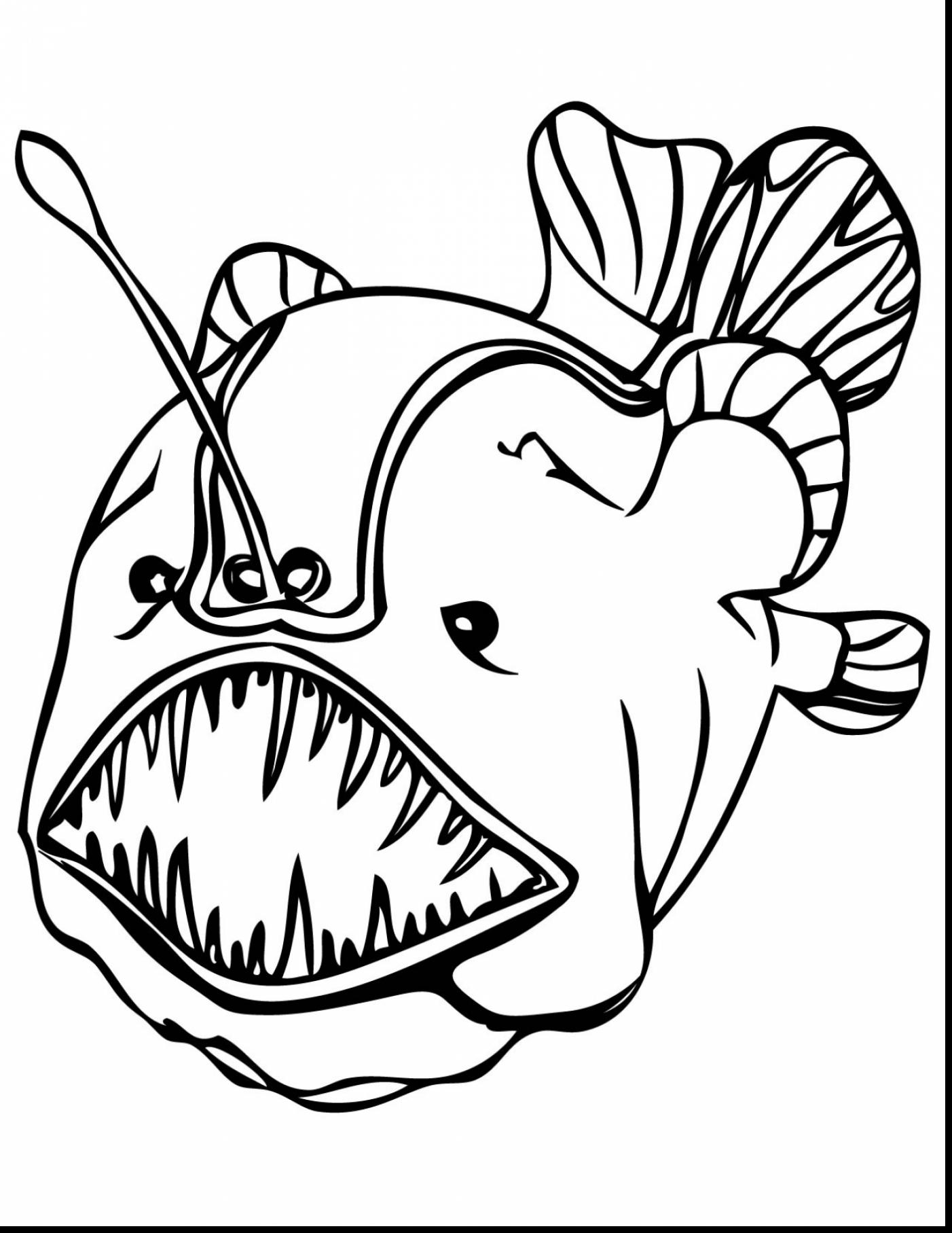 fish color fish coloring page 2020 printable activity shelter fish color