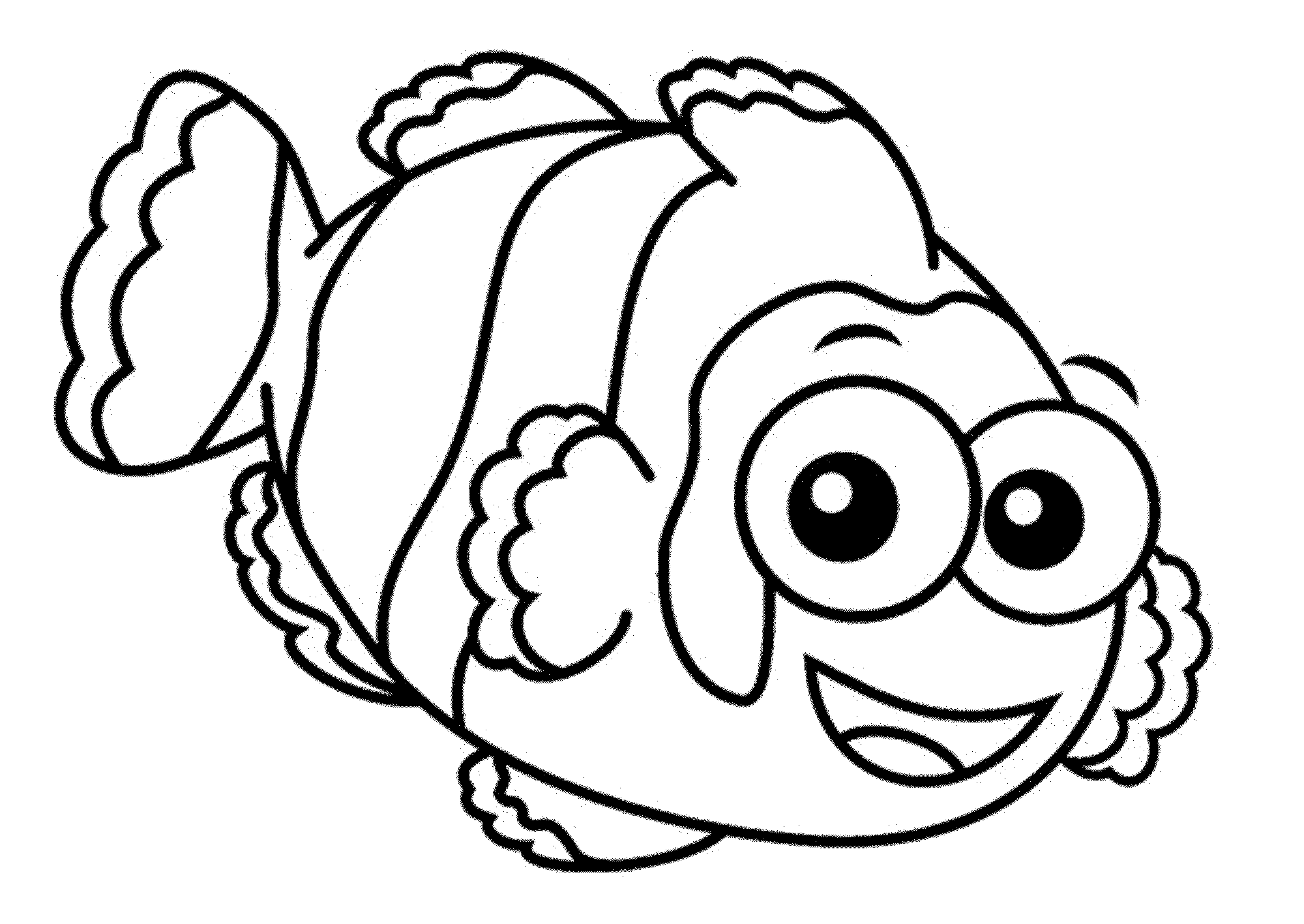 fish color free printable fish coloring pages for kids fish color 1 1