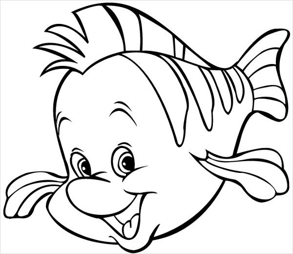 fish color print download cute and educative fish coloring pages fish color 1 2