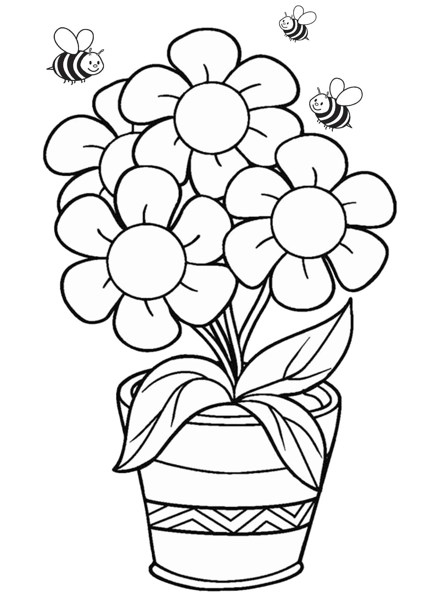 flower coloring book pages free flower coloring pages for kids printable pdf print coloring book flower pages