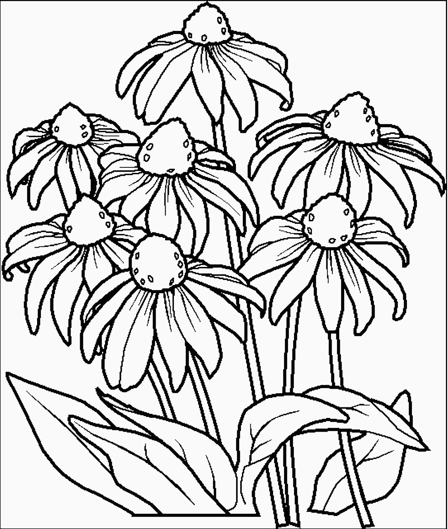 flower coloring pages to print flower13 flowers coloring pages coloring page book for kids coloring print to flower pages