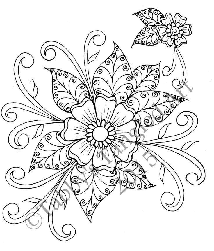 flower pattern coloring pages free printable flower coloring pages for kids best pages flower coloring pattern