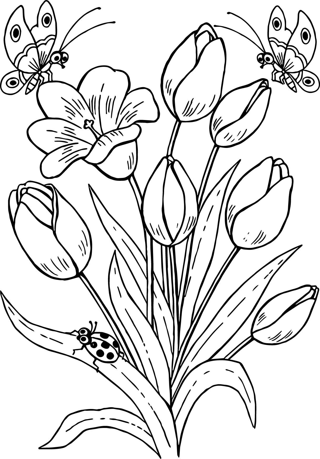 flower pattern coloring pages free printable flower pattern coloring page 06 pattern pages coloring flower
