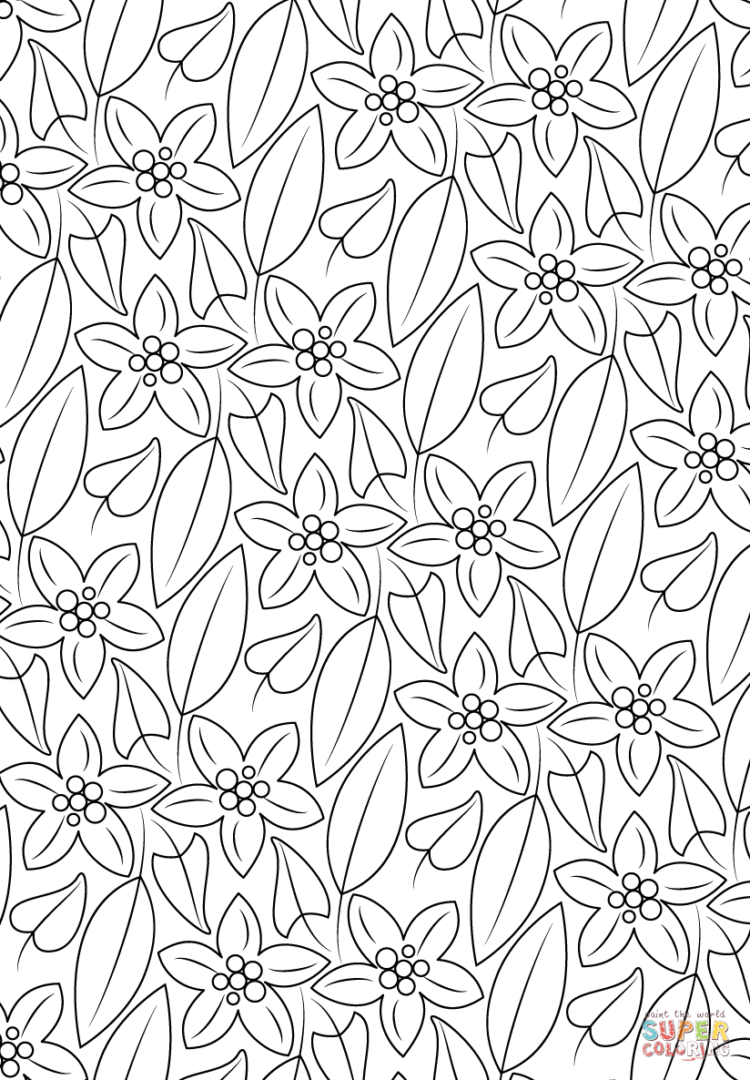 flower pattern coloring pages simple flower mandala coloring pages free printables flower coloring pages pattern