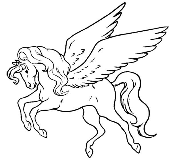 flying unicorn coloring pages printable unicorn drawing mythical coloring book pictures unicorn flying pages coloring