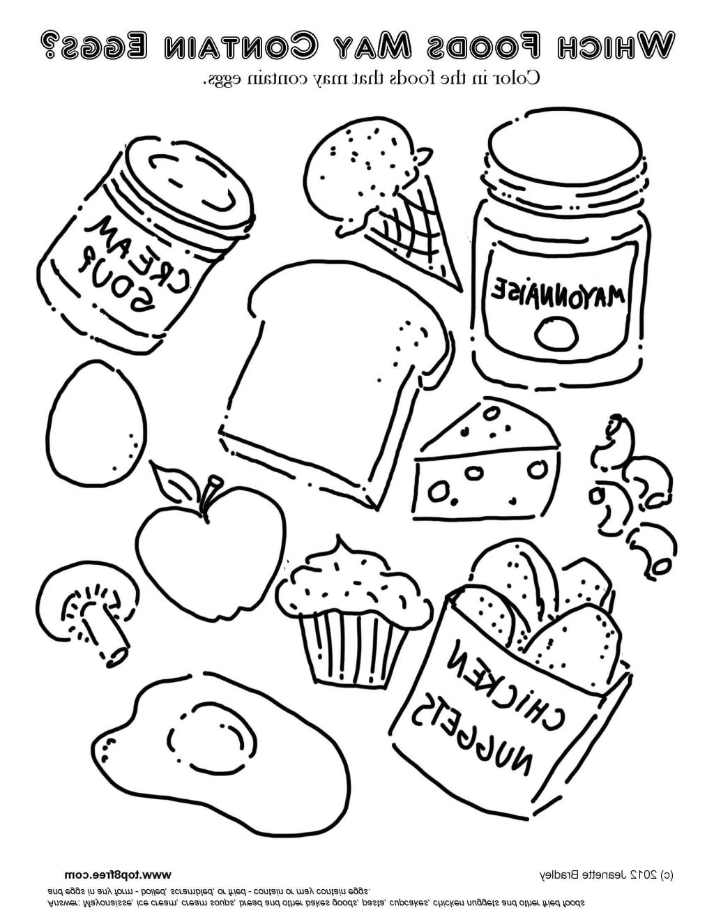 food coloring sheets canned food coloring pages at getdrawings free download coloring food sheets