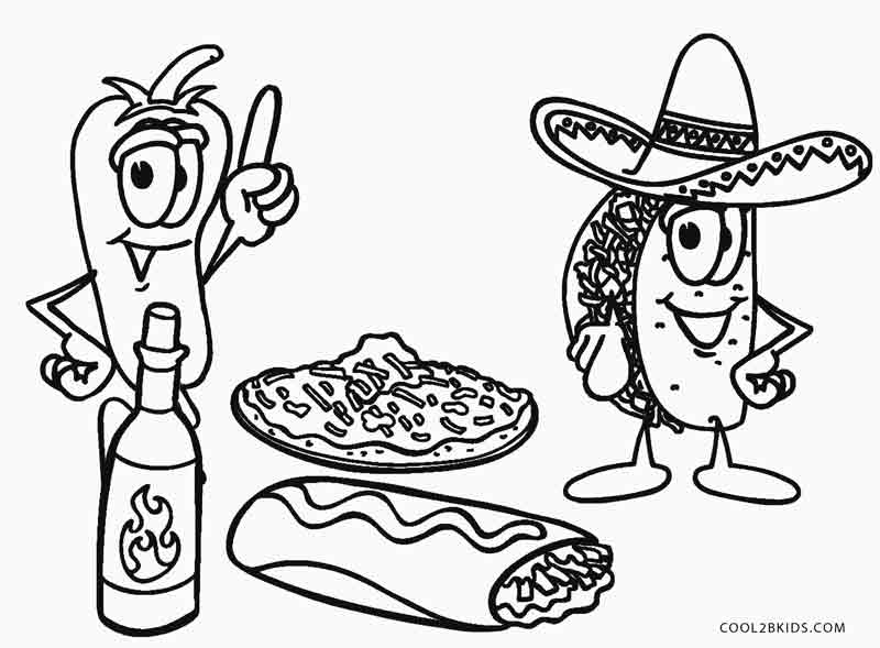 food pictures to colour free printable food coloring pages for kids food colour pictures to
