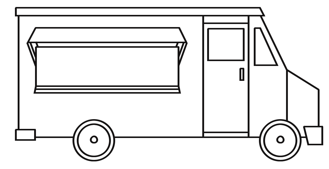 food truck coloring page blank food truck drawing sketch coloring page coloring page truck food