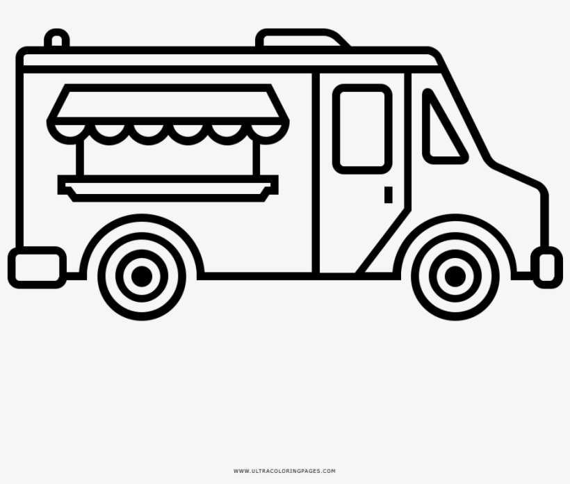 food truck coloring page burger food truck coloring page coloringcrewcom truck page food coloring