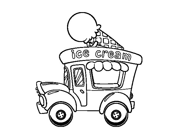 food truck coloring page chevy coloring pages food truck colouring pages kids truck food page coloring