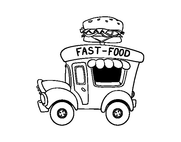 food truck coloring page ice cream food truck coloring page coloringcrewcom page truck food coloring
