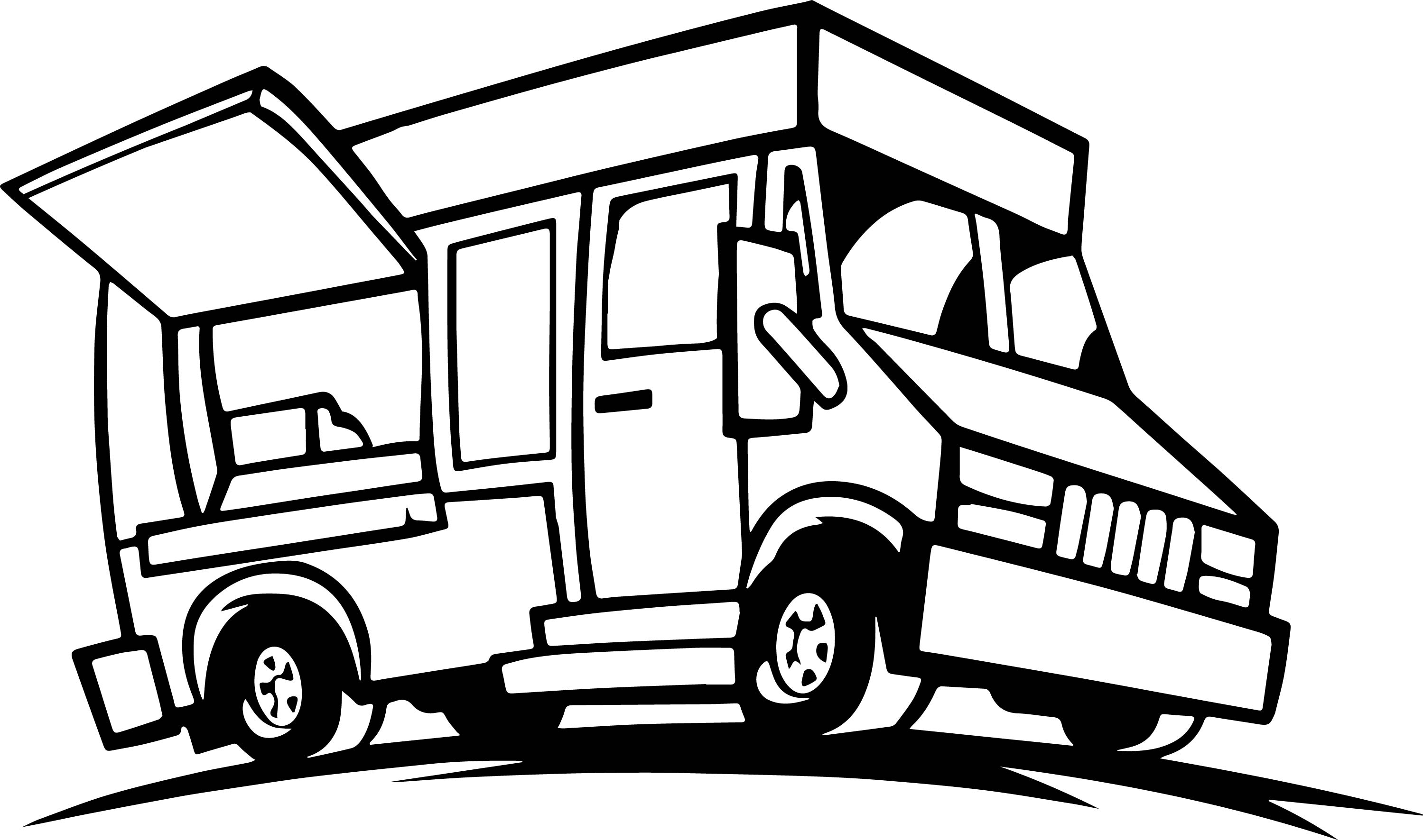 food truck coloring page pizza food truck coloring page coloringcrewcom coloring truck food page