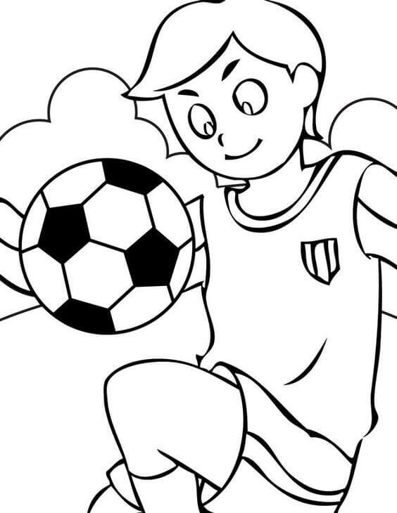 football pictures to colour and print printable soccer player coloring pages realistic pictures to football and colour print
