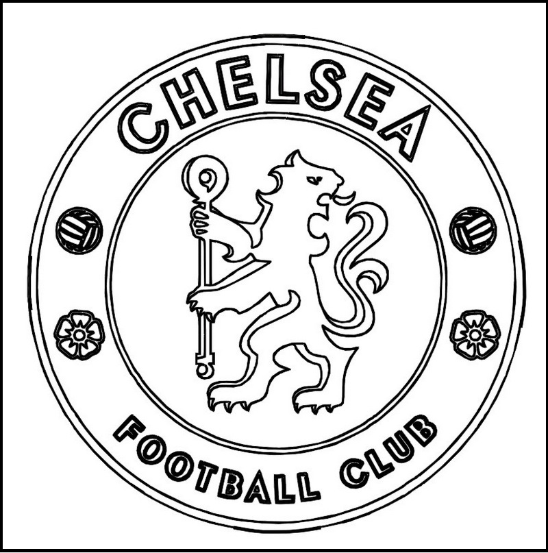 football team coloring pages chelsea football club coloring line art pages team football coloring