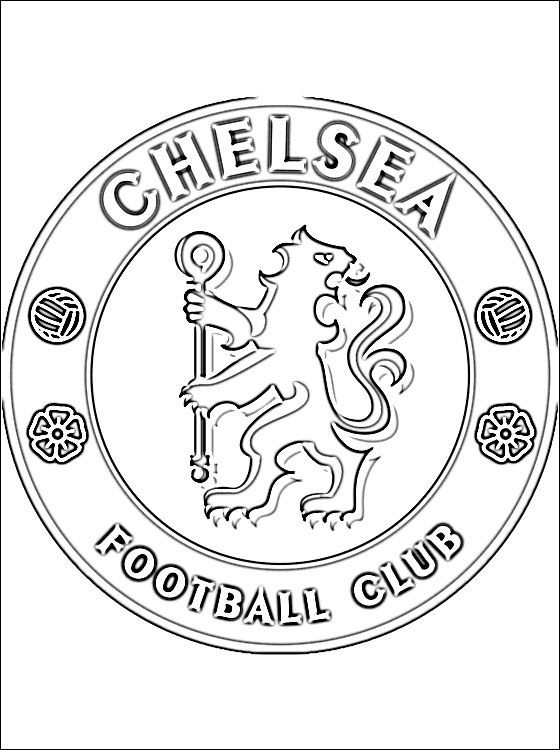 football team coloring pages coloring chelsea google leit chelsea football club pages coloring football team