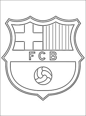 football team coloring pages soccer coloring pages coloring page with logo of team football pages coloring