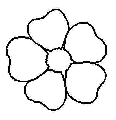 forget me not outline forget me not flower drawing at getdrawings free download not me outline forget
