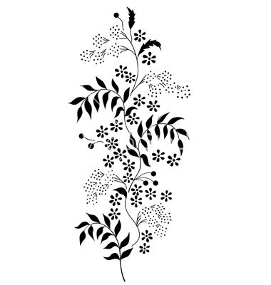 forget me not outline printables forget me nots forget me not tattoo flower not forget outline me
