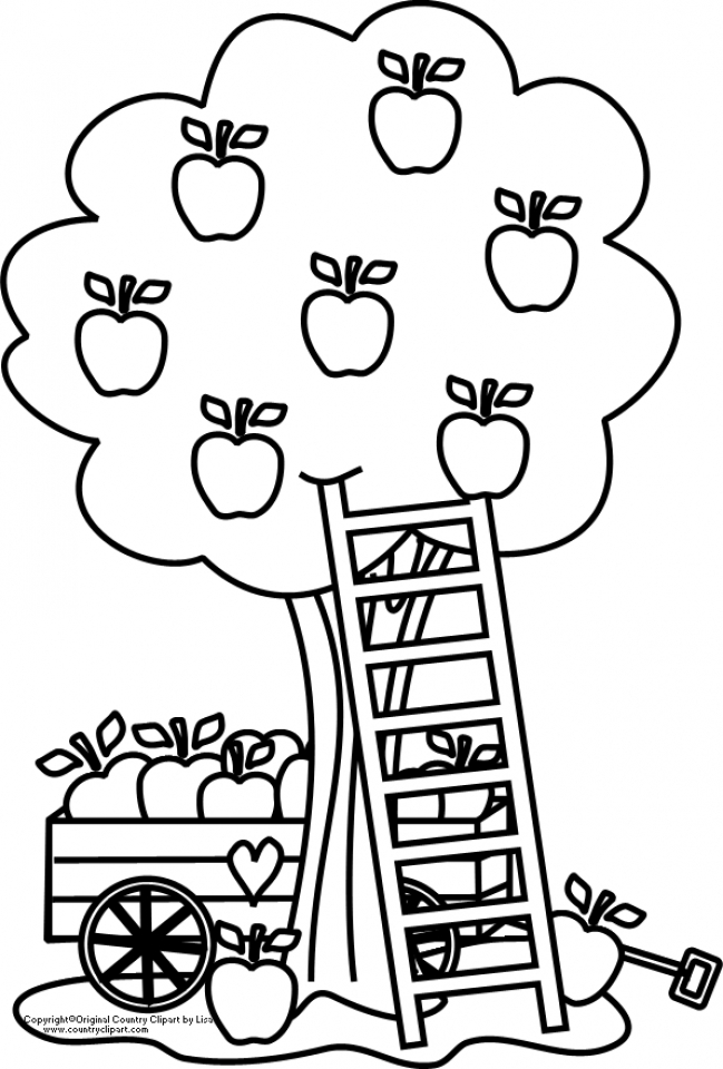 free apple coloring pages free printable apple coloring pages for kids apple pages coloring free