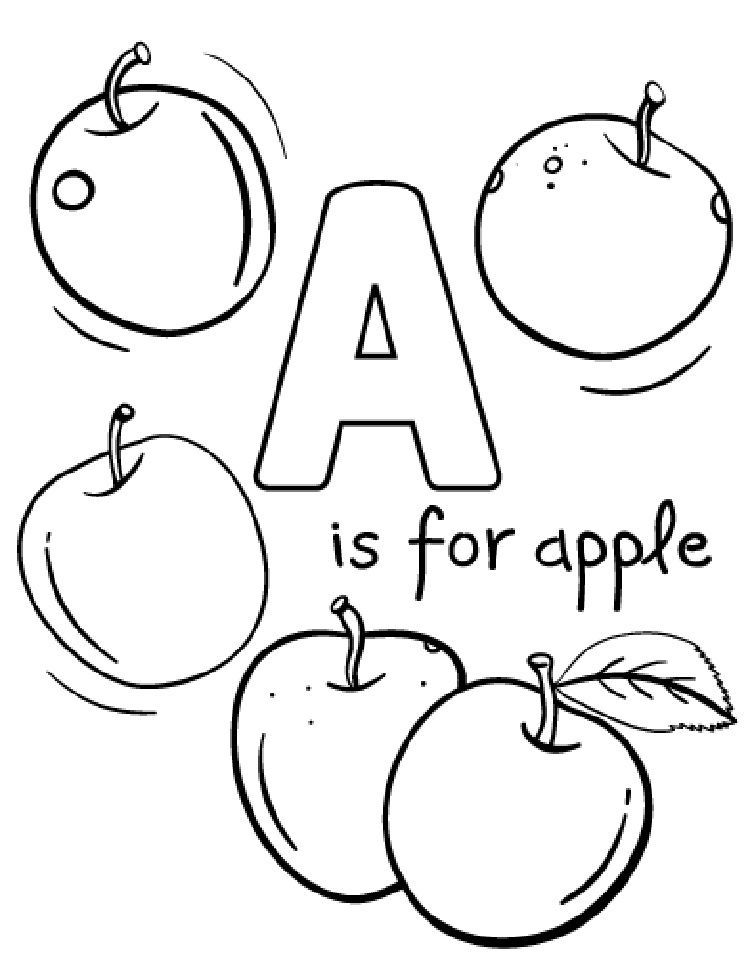 free apple coloring pages free printable apple coloring pages for kids pages coloring apple free
