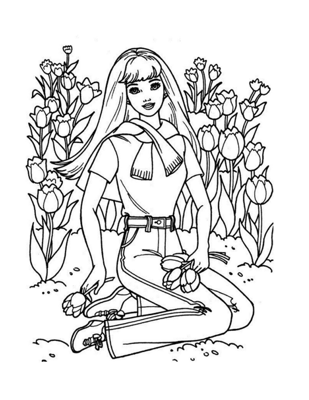 free barbie coloring pages barbie 33 coloringcolorcom barbie coloring pages free