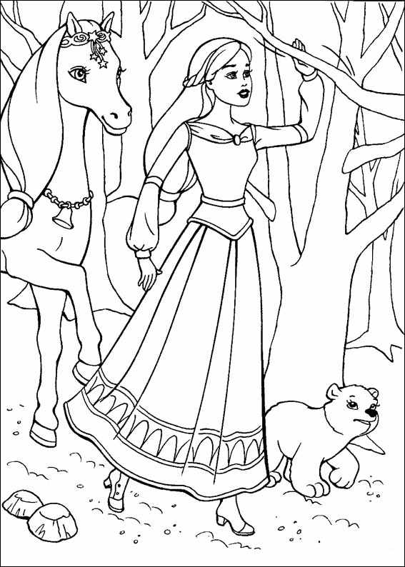 free barbie coloring pages barbie coloring pages online at getdrawings free download pages coloring barbie free
