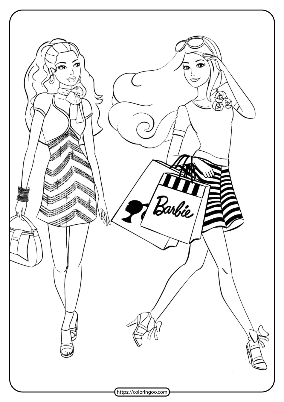 free barbie coloring pages barbie dream house coloring pages at getdrawings free coloring pages free barbie