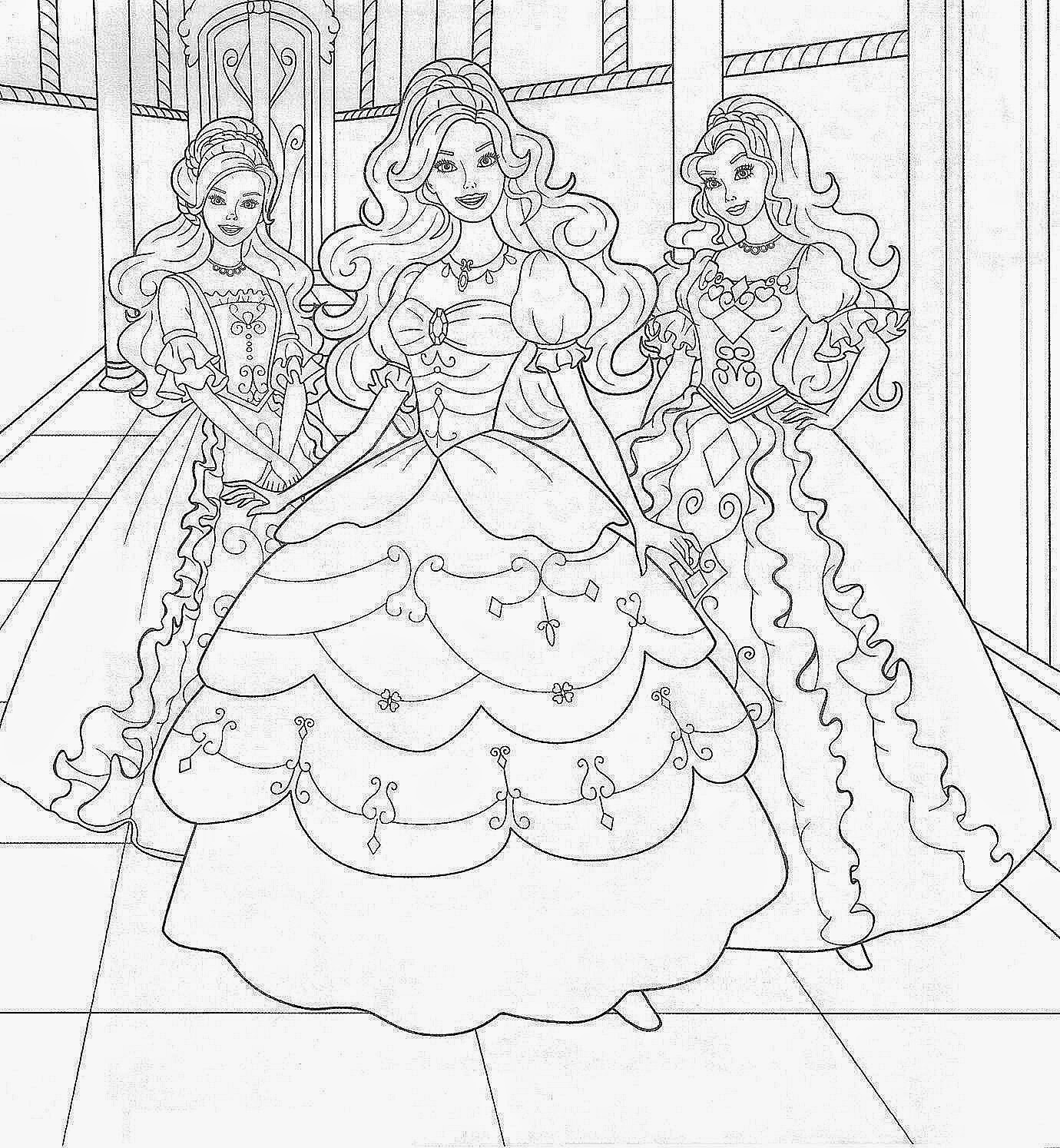 free barbie coloring pages coloring pages barbie free printable coloring pages barbie pages free coloring