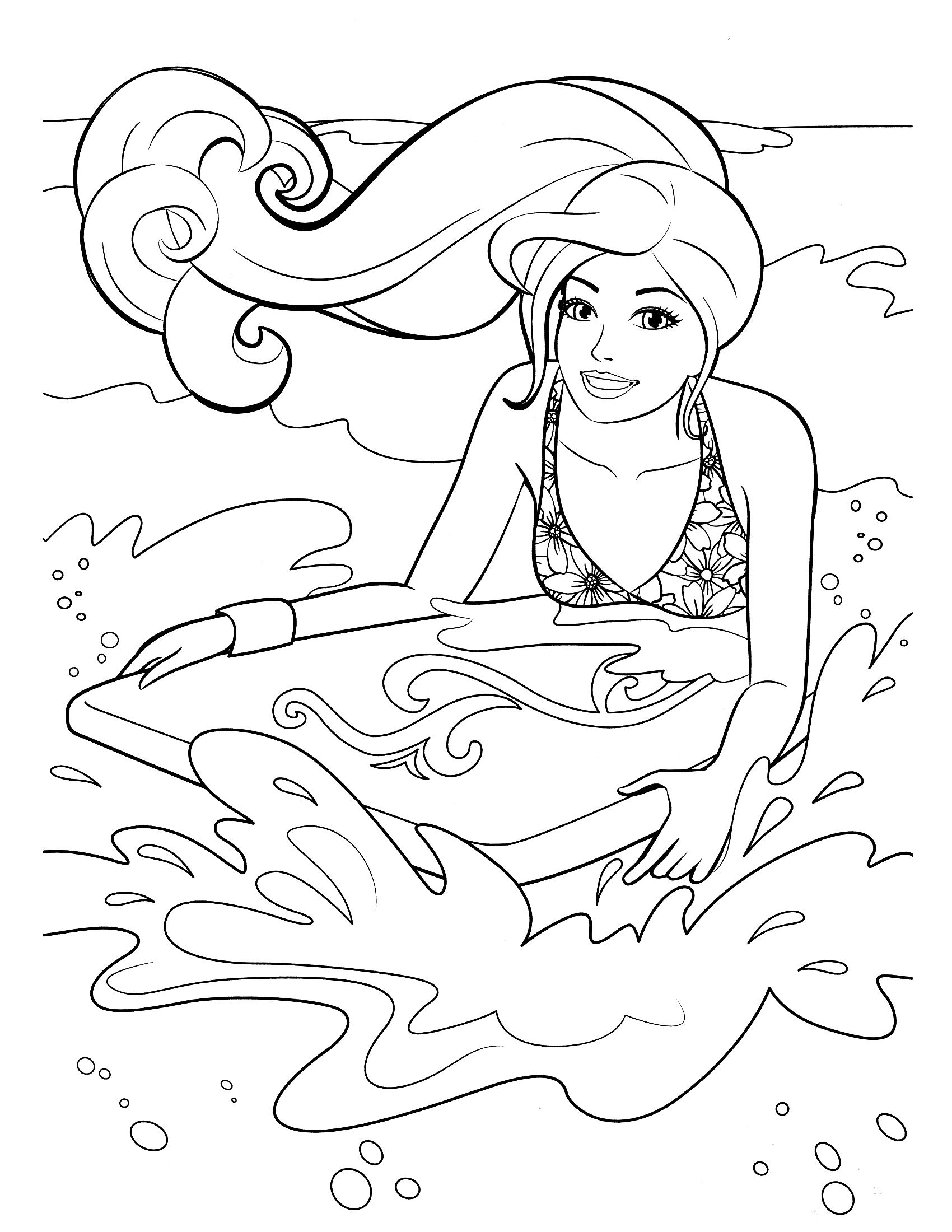 free barbie coloring pages coloring pages barbie free printable coloring pages pages free coloring barbie