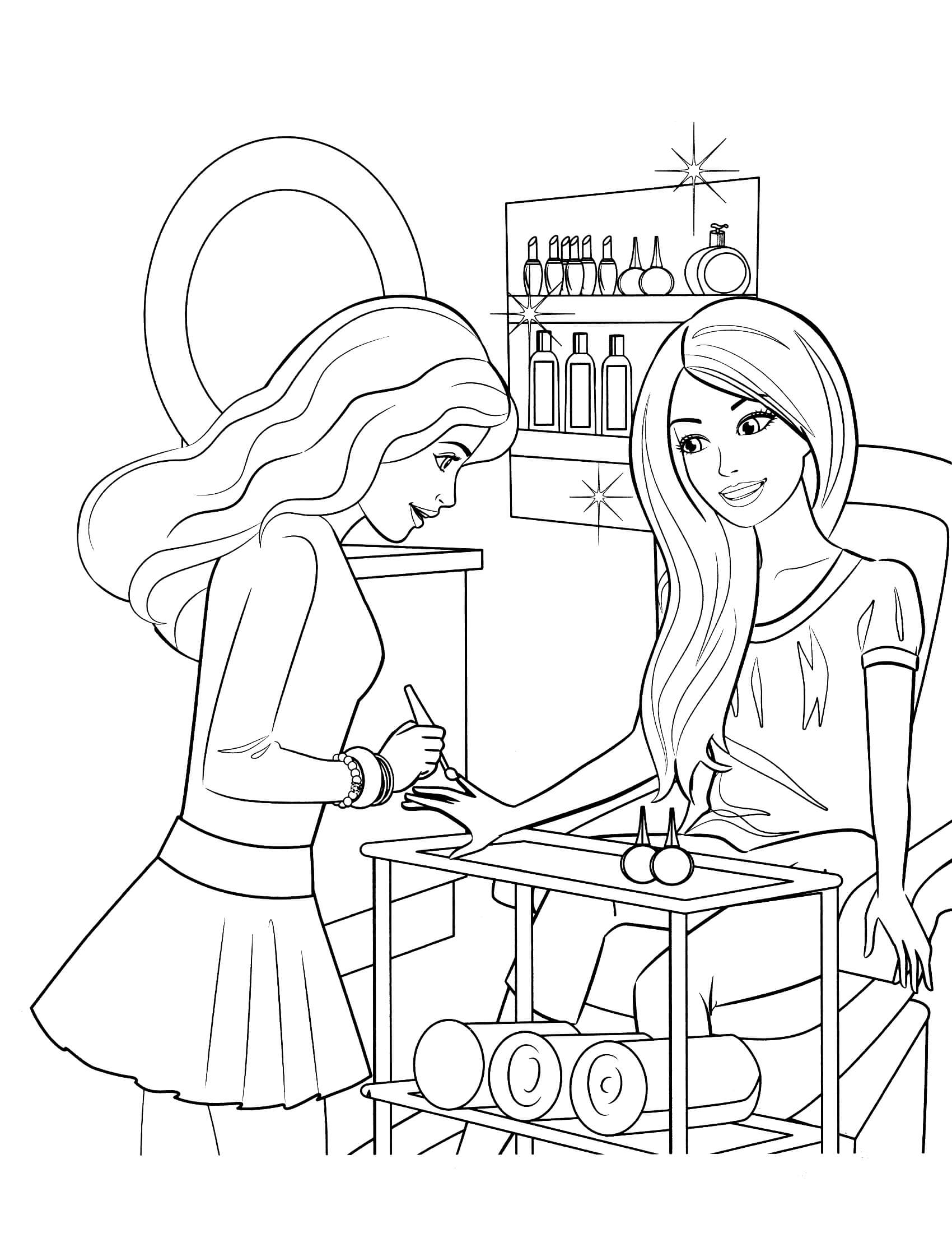 free barbie coloring pages free printable barbie coloring pages for kids barbie pages free coloring