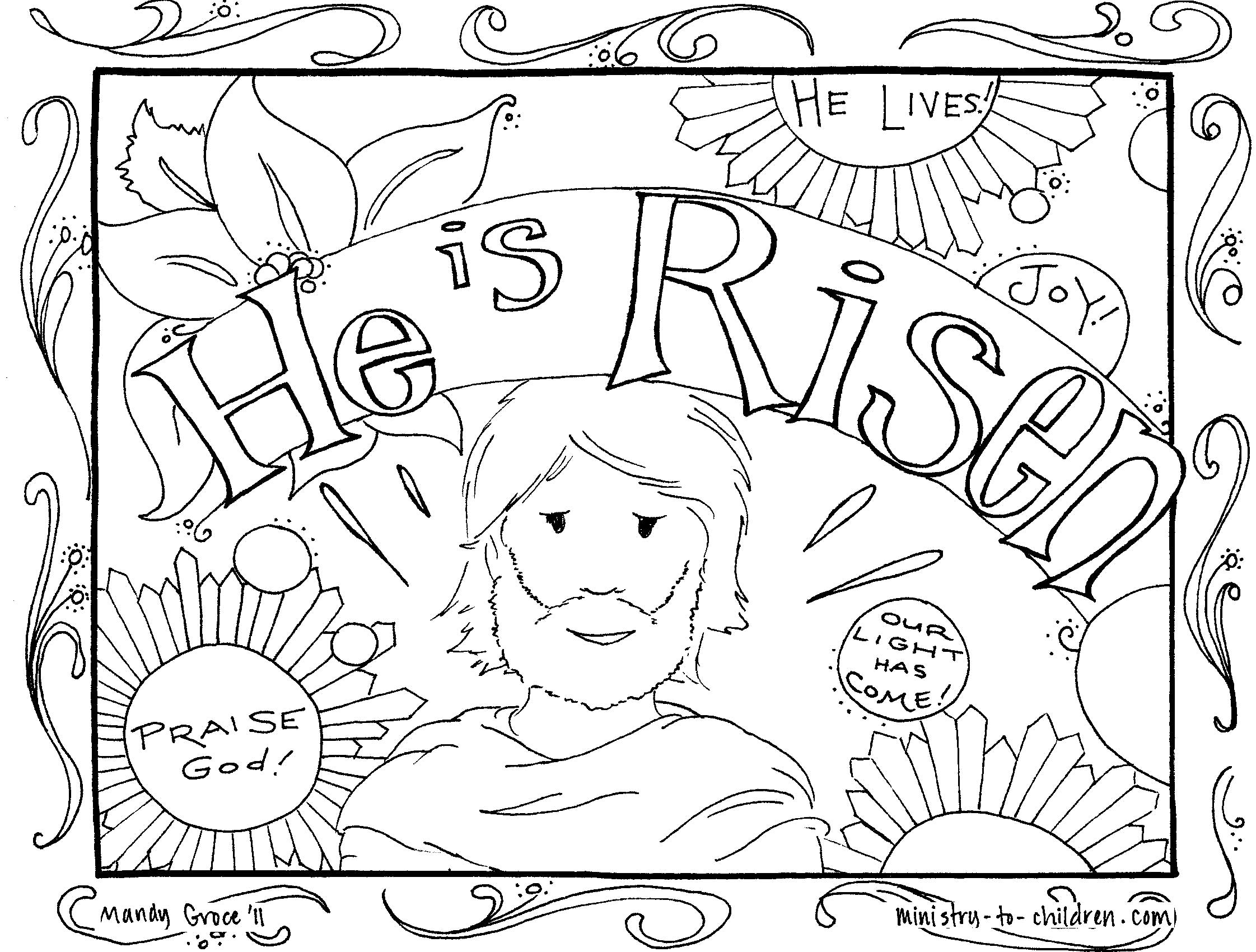 free christian easter coloring pages religious easter coloring pages to download and print for free pages free christian easter coloring