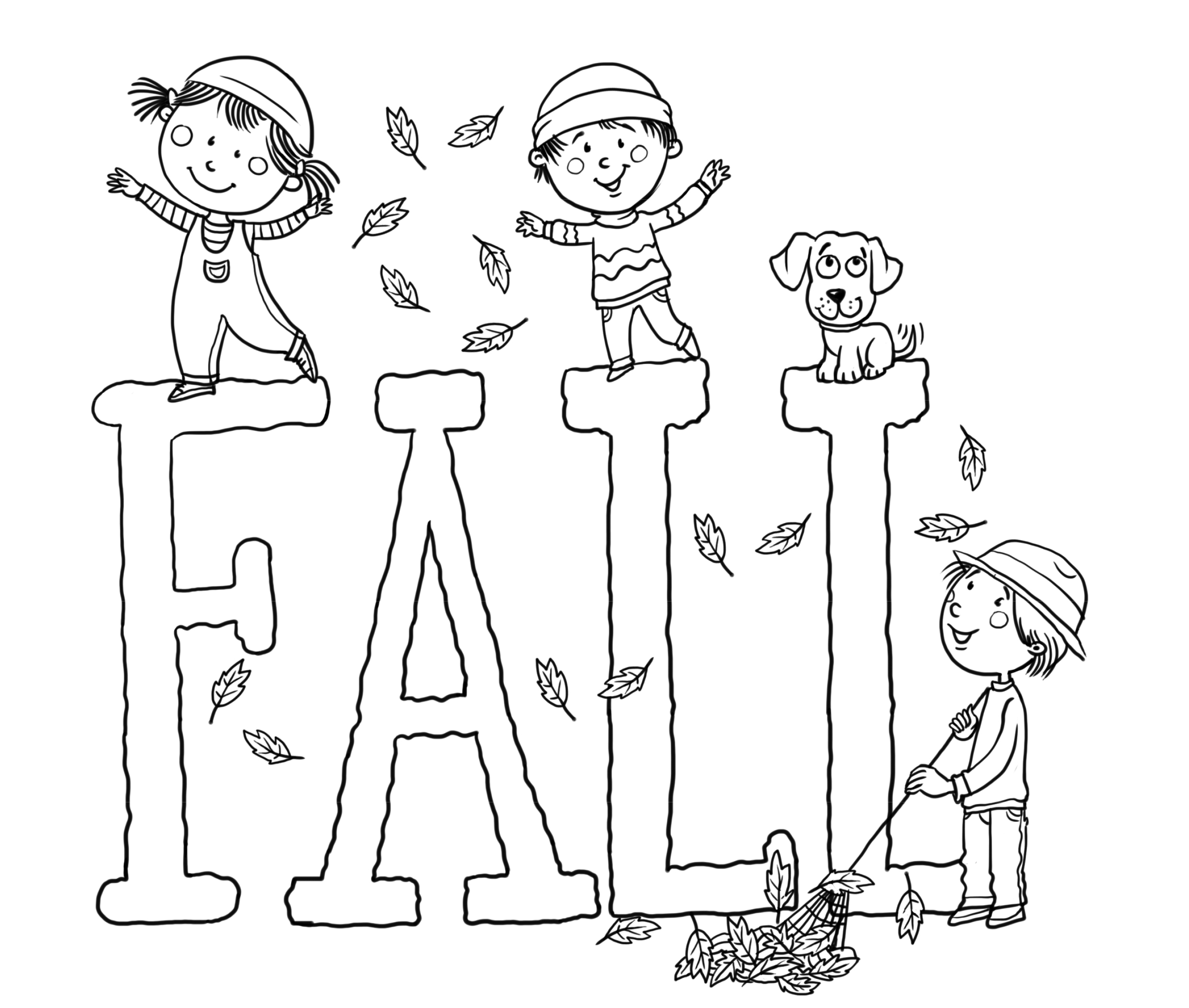 free fall printable coloring pages free printable fall coloring pages for kids best coloring free pages fall printable