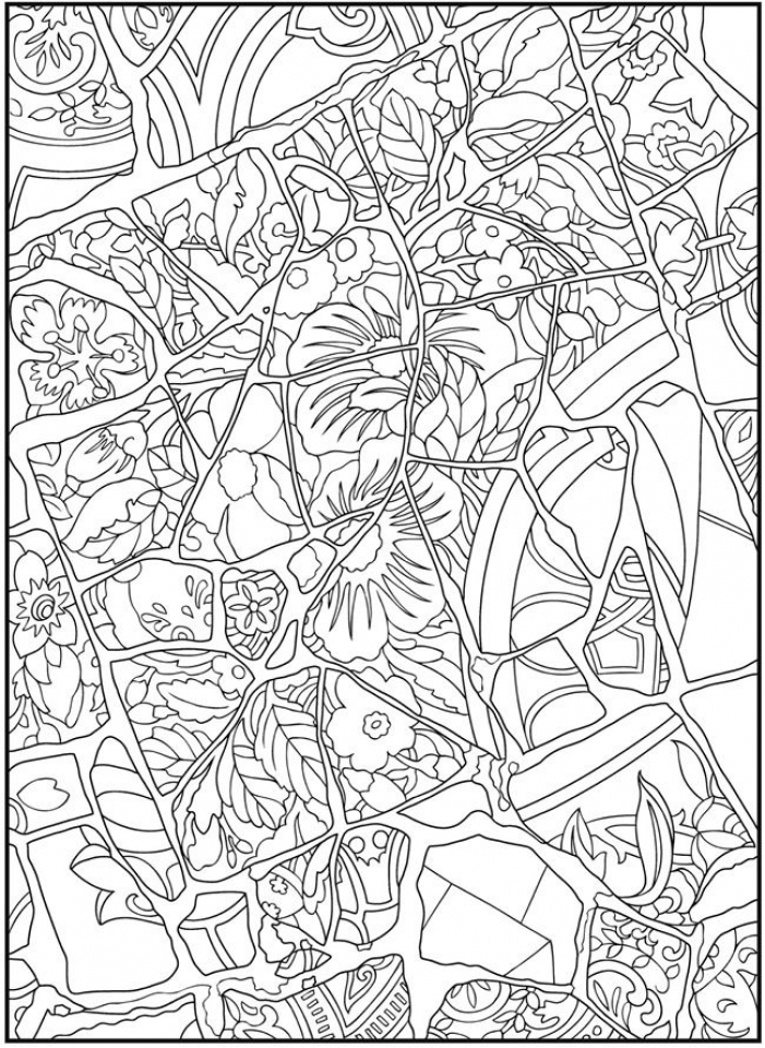 free mosaic coloring pages get this mosaic coloring pages free printable 13110 free mosaic coloring pages