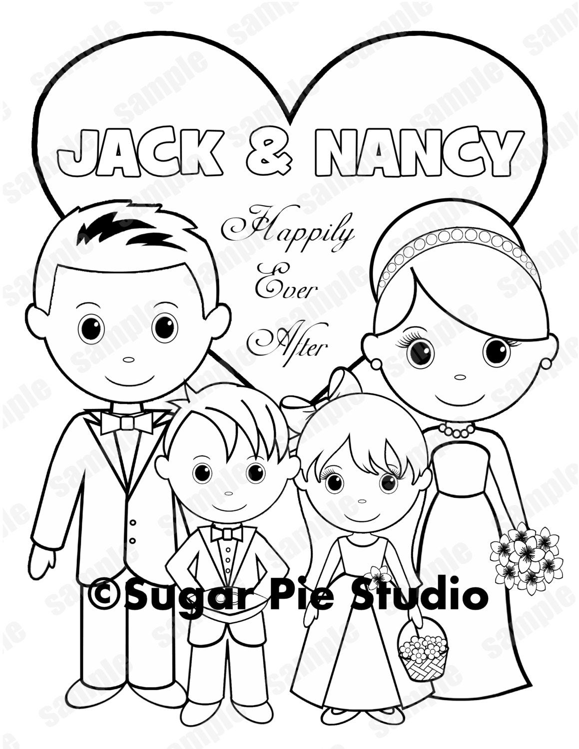 free personalized wedding coloring pages flower girl coloring pages in 2020 wedding coloring free wedding pages coloring personalized