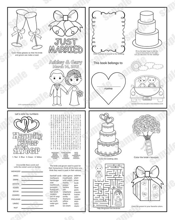 free personalized wedding coloring pages mini printable personalized wedding coloring activity book pages wedding free personalized coloring