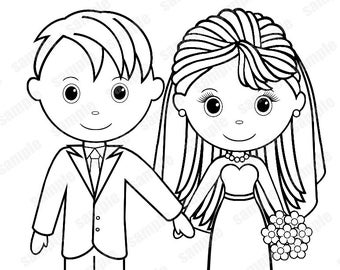 free personalized wedding coloring pages personalized printable bride groom flower girl ring bearer free coloring pages personalized wedding