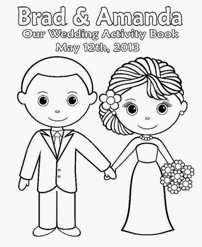 free personalized wedding coloring pages printable personalized wedding coloring activity book personalized coloring wedding free pages