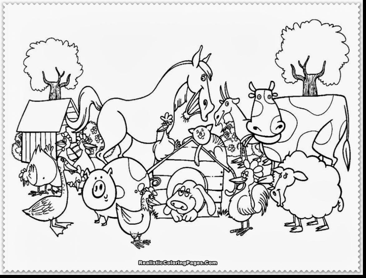 free pictures of farm animals to print farm animals coloring pages learny kids of animals to pictures farm free print