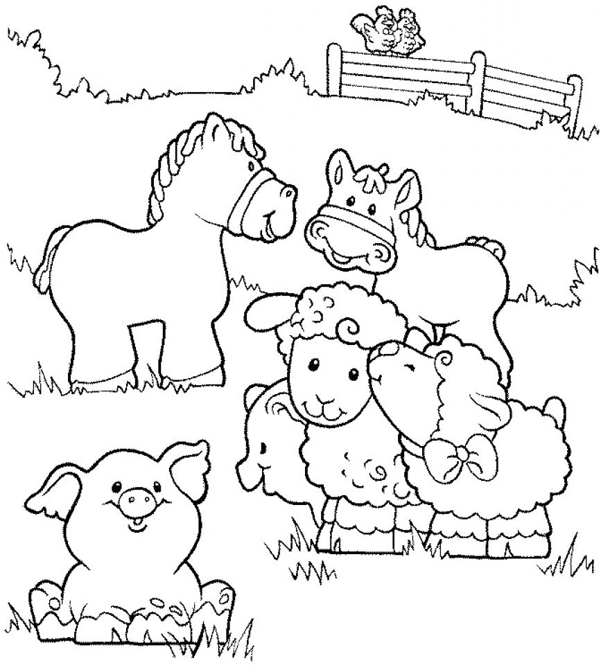 free pictures of farm animals to print free printable farm animal coloring pages for kids pictures free animals print farm to of