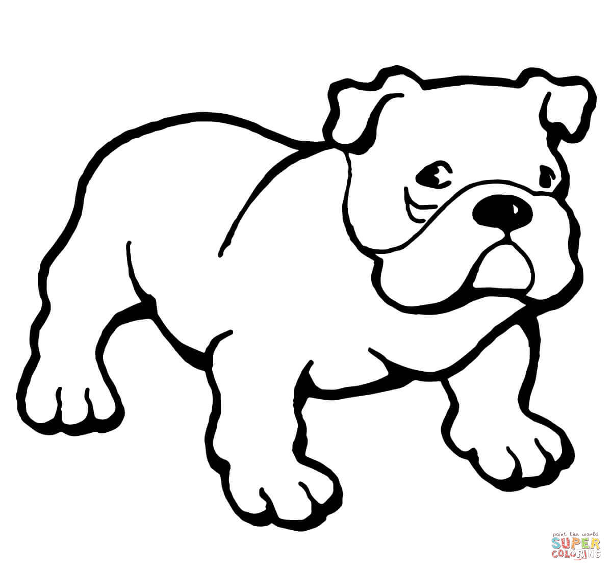 free printable bulldog coloring page bulldog coloring pages to download and print for free coloring bulldog printable page free