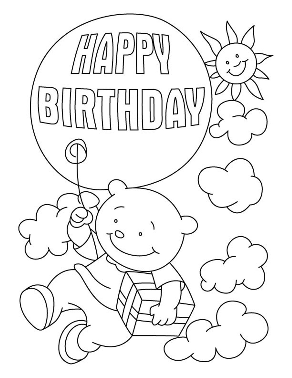 free printable coloring birthday cards birthday card with pictures cat cupcake coloring pages coloring cards birthday printable free