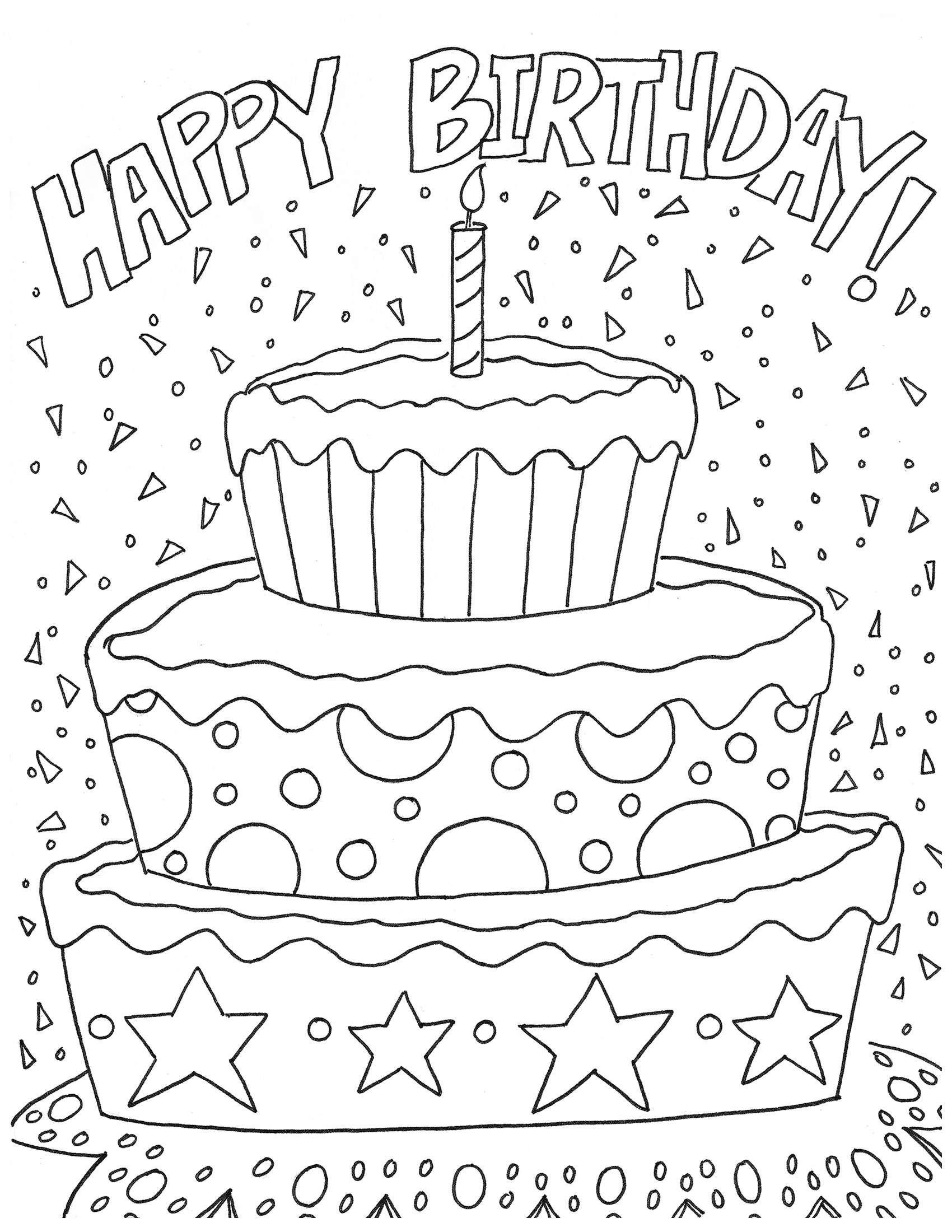 free printable coloring birthday cards birthday coloring page coloring cards birthday printable free