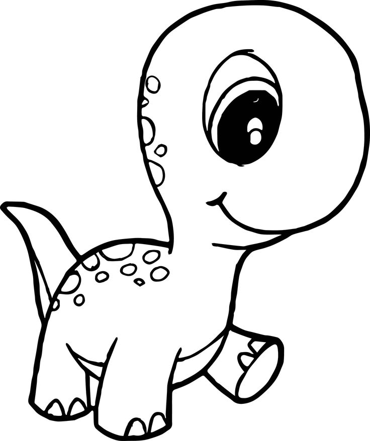 free printable dinosaur coloring pages baby dinosaur coloring page free download on clipartmag free coloring dinosaur printable pages