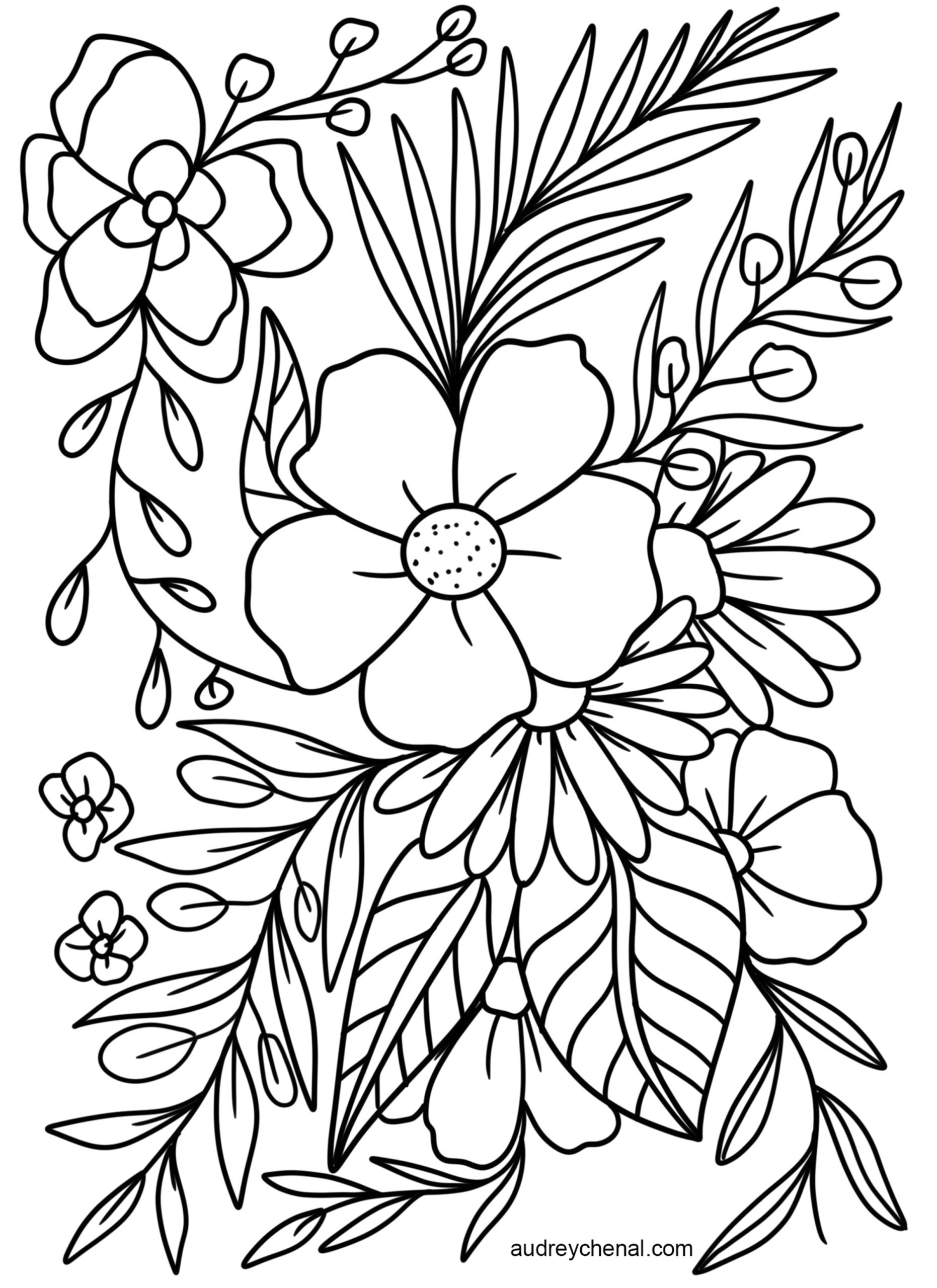 free printable flowers to color spring flowers coloring page free printable coloring pages printable free to color flowers