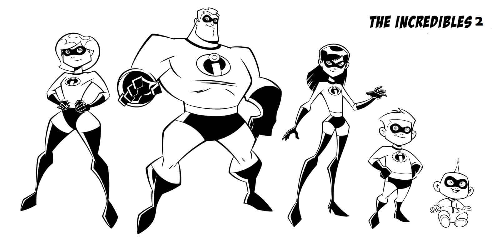free printable incredibles 2 coloring pages free printable incredibles 2 coloring pages coloring incredibles printable pages free 2